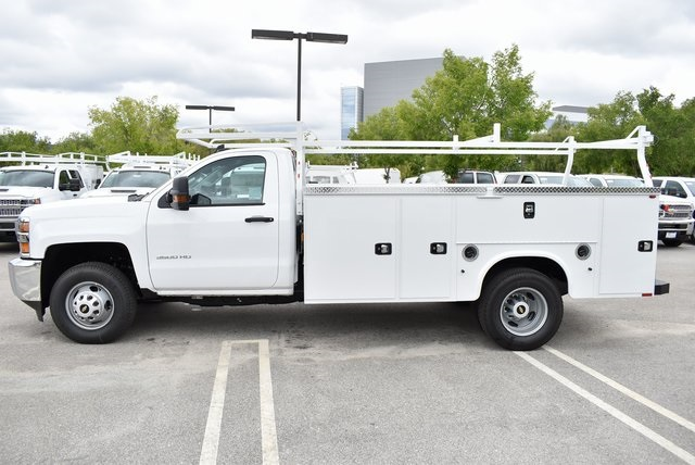2019 Silverado 3500 Regular Cab DRW 4x2,  Knapheide Standard Service Body Utility #M19391 - photo 7