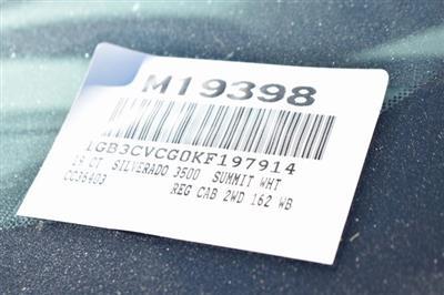 2019 Silverado 3500 Regular Cab DRW 4x2,  Knapheide Standard Service Body Utility #M19398 - photo 3