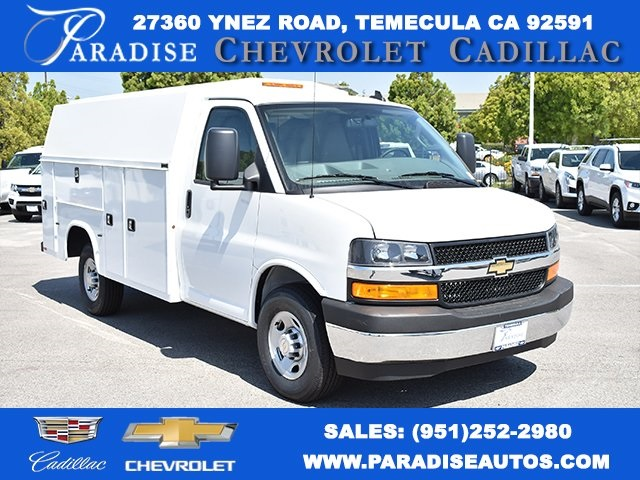 2019 Chevrolet Express 3500 4x2, Knapheide Plumber #M19404 - photo 1