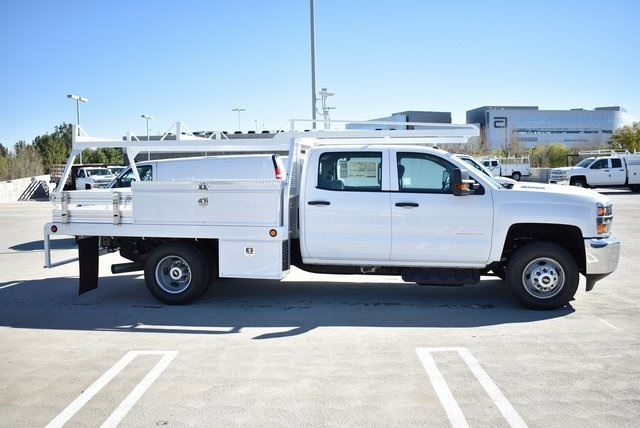 2019 Silverado 3500 Crew Cab DRW 4x2,  Scelzi Contractor Body #M19412 - photo 10
