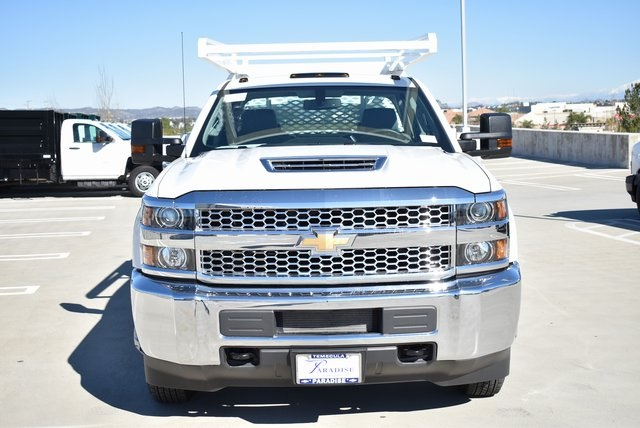 2019 Silverado 3500 Crew Cab DRW 4x2,  Scelzi Contractor Body #M19412 - photo 5