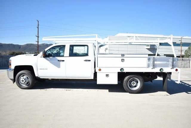 2019 Silverado 3500 Crew Cab DRW 4x2,  Scelzi Contractor Body #M19412 - photo 7
