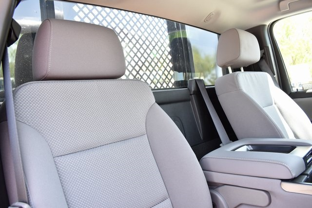 2019 Silverado Medium Duty Regular Cab DRW 4x2,  Morgan Prostake Stake Bed Flat/Stake Bed #M19414 - photo 18