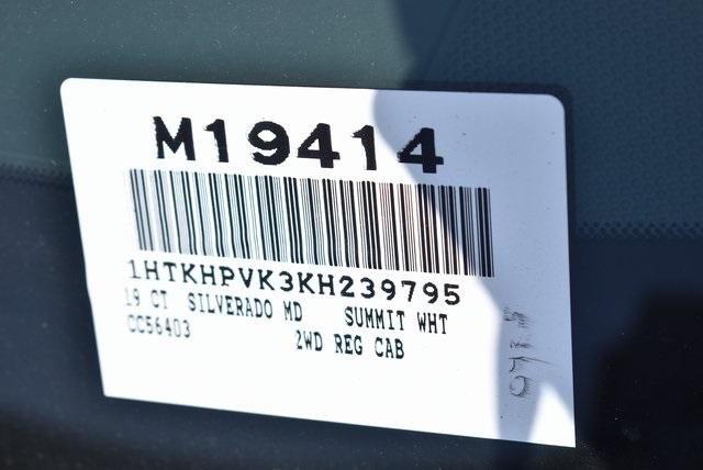 2019 Silverado Medium Duty Regular Cab DRW 4x2,  Morgan Prostake Stake Bed Flat/Stake Bed #M19414 - photo 4