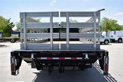 2019 Silverado Medium Duty Regular Cab DRW 4x2,  Morgan Prostake Stake Bed Flat/Stake Bed #M19414 - photo 9