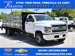 2019 Silverado Medium Duty DRW 4x2,  Morgan Flat/Stake Bed #M19414 - photo 1