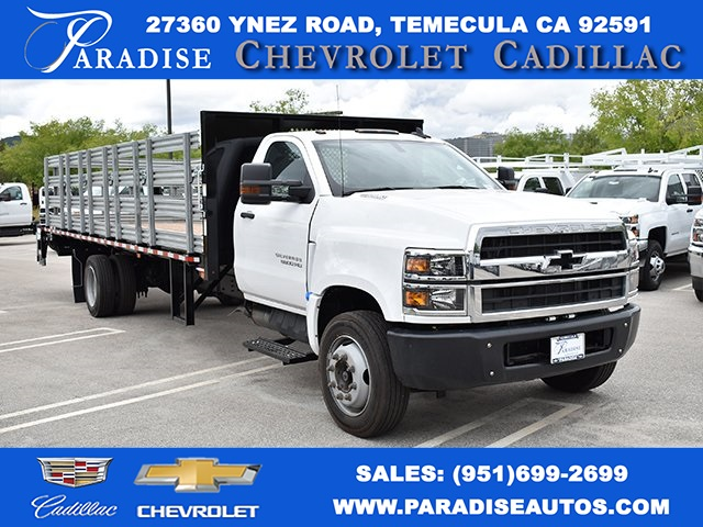 2019 Silverado Medium Duty DRW 4x2,  Morgan Flat/Stake Bed #M19418 - photo 1
