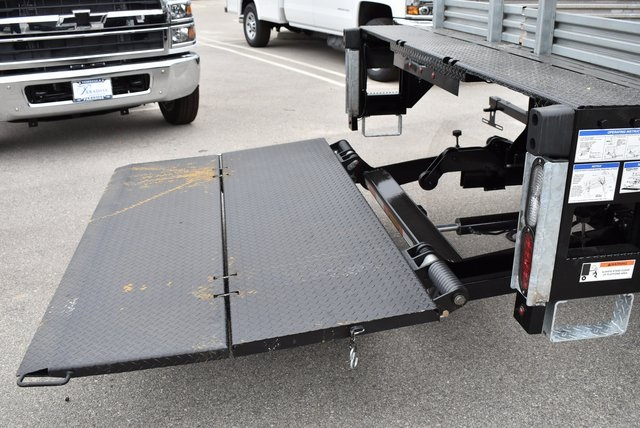 2019 Silverado Medium Duty DRW 4x2,  Morgan Prostake Stake Bed Flat/Stake Bed #M19418 - photo 10