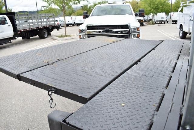 2019 Silverado Medium Duty DRW 4x2,  Morgan Prostake Stake Bed Flat/Stake Bed #M19418 - photo 12