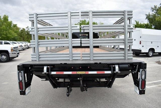 2019 Silverado Medium Duty DRW 4x2,  Morgan Prostake Stake Bed Flat/Stake Bed #M19418 - photo 8