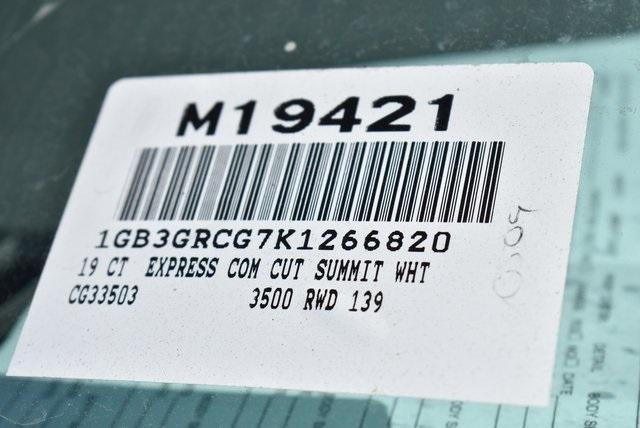 2019 Express 3500 4x2,  Knapheide KUV Plumber #M19421 - photo 4