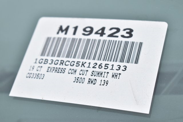 2019 Express 3500 4x2,  Knapheide KUV Plumber #M19423 - photo 3