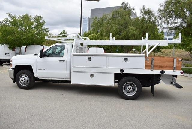 2019 Silverado 3500 Regular Cab DRW 4x2,  Harbor Standard Contractor Body #M19424 - photo 6