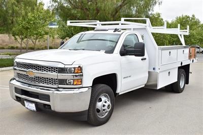 2019 Silverado 3500 Regular Cab DRW 4x2,  Harbor Standard Contractor Body #M19424 - photo 5
