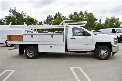 2019 Silverado 3500 Regular Cab DRW 4x2,  Harbor Standard Contractor Body #M19424 - photo 9