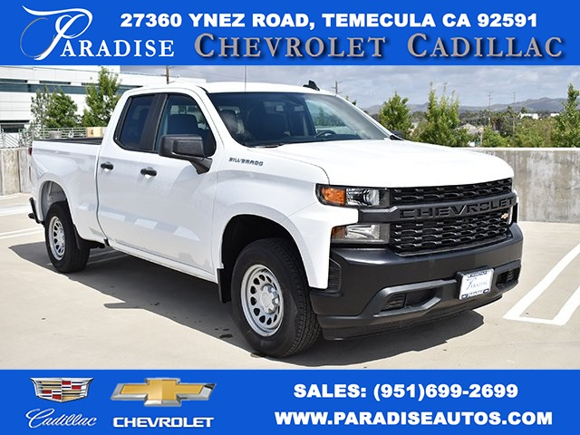 2019 Silverado 1500 Double Cab 4x2,  Pickup #M19425 - photo 1