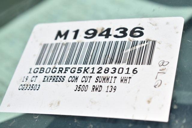 2019 Express 3500 4x2,  Knapheide KUV Plumber #M19436 - photo 3