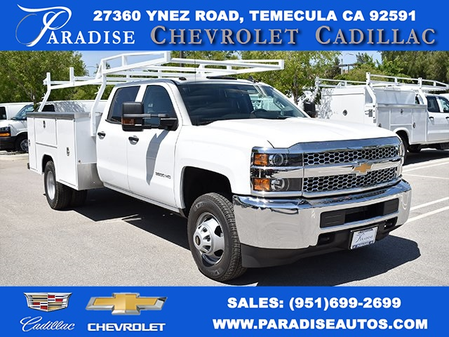 2019 Silverado 3500 Crew Cab DRW 4x4,  Harbor Utility #M19447 - photo 1