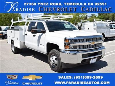 2019 Silverado 3500 Crew Cab DRW 4x4,  Harbor TradeMaster Utility #M19447 - photo 1