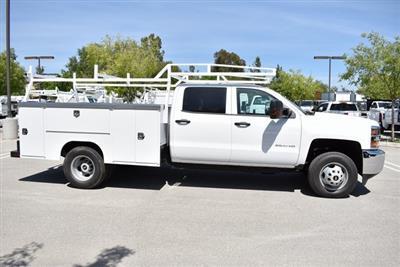2019 Silverado 3500 Crew Cab DRW 4x4,  Harbor TradeMaster Utility #M19447 - photo 10
