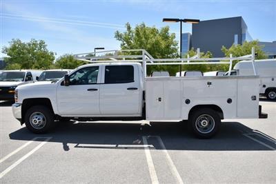 2019 Silverado 3500 Crew Cab DRW 4x4,  Harbor TradeMaster Utility #M19447 - photo 7