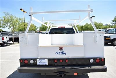 2019 Silverado 3500 Crew Cab DRW 4x4,  Harbor TradeMaster Utility #M19447 - photo 9