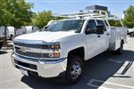 2019 Silverado 3500 Crew Cab DRW 4x4,  Harbor TradeMaster Utility #M19447 - photo 6