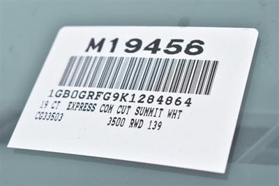 2019 Express 3500 4x2,  Knapheide KUV Plumber #M19456 - photo 4