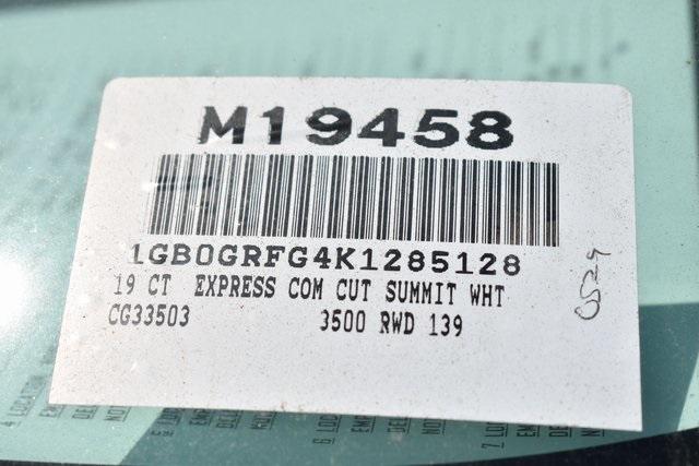 2019 Express 3500 4x2,  Knapheide KUV Plumber #M19458 - photo 2