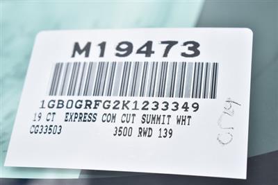2019 Express 3500 4x2,  Morgan Mini-Mover Straight Box #M19473 - photo 4