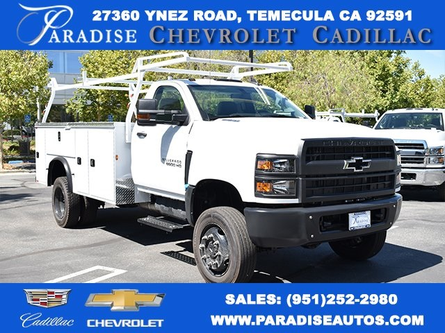 New 2019 Chevrolet Silverado 5500 Utility For Sale In Temecula Ca