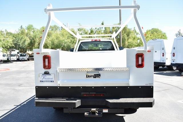 2019 Silverado Medium Duty Regular Cab DRW 4x4,  Knapheide Standard Service Body Utility #M19493 - photo 7