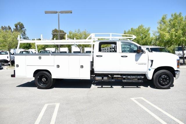 2019 Silverado Medium Duty Crew Cab 4x2,  Harbor TradeMaster Utility #M19508 - photo 10