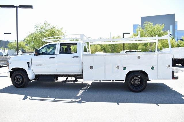 2019 Silverado Medium Duty Crew Cab 4x2,  Harbor TradeMaster Utility #M19508 - photo 7