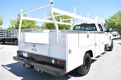 2019 Silverado Medium Duty Crew Cab 4x2,  Harbor TradeMaster Utility #M19508 - photo 2