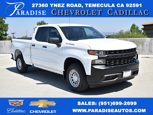 2019 Silverado 1500 Double Cab 4x2,  Pickup #M19513 - photo 1