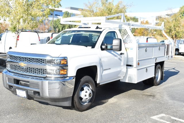 2019 Silverado 3500 Regular Cab DRW 4x2,  Royal Contractor Body #M19524 - photo 5