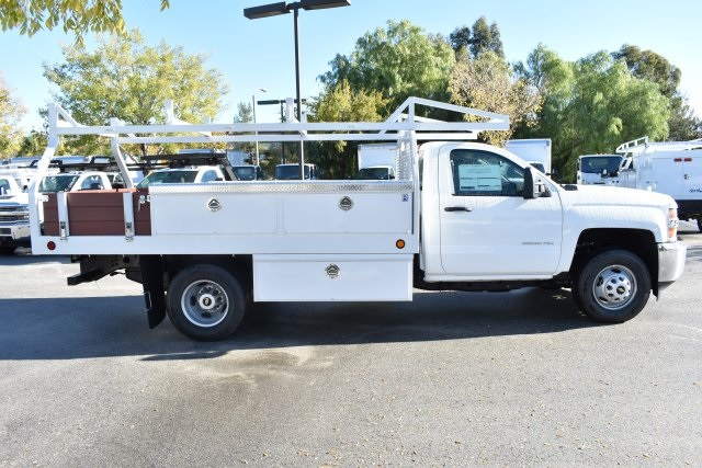 2019 Silverado 3500 Regular Cab DRW 4x2,  Royal Contractor Body #M19524 - photo 8
