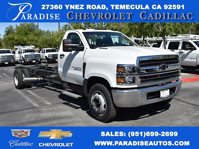 2019 Silverado Medium Duty Regular Cab DRW 4x2,  Cab Chassis #M19563 - photo 1