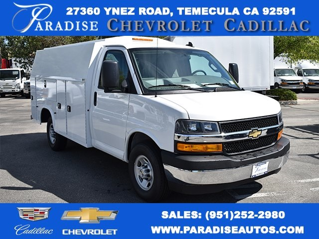 2019 Chevrolet Express 3500 4x2, Knapheide Plumber #M19573 - photo 1