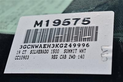 2019 Silverado 1500 Regular Cab 4x2,  Pickup #M19575 - photo 3