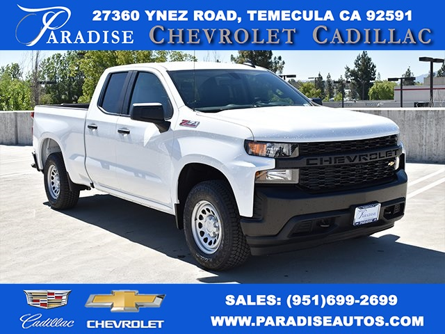 2019 Silverado 1500 Double Cab 4x4,  Pickup #M19610 - photo 1