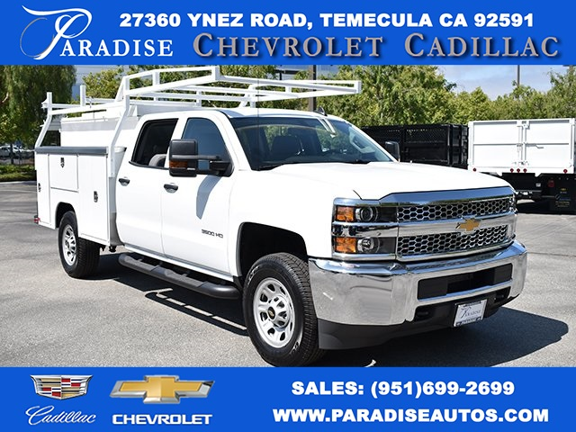 2019 Silverado 3500 Crew Cab 4x2,  Harbor Utility #M19619 - photo 1