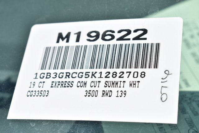 2019 Express 3500 4x2,  Knapheide KUV Plumber #M19622 - photo 3
