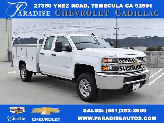 2019 Silverado 2500 Double Cab 4x2,  Harbor Utility #M19641 - photo 1