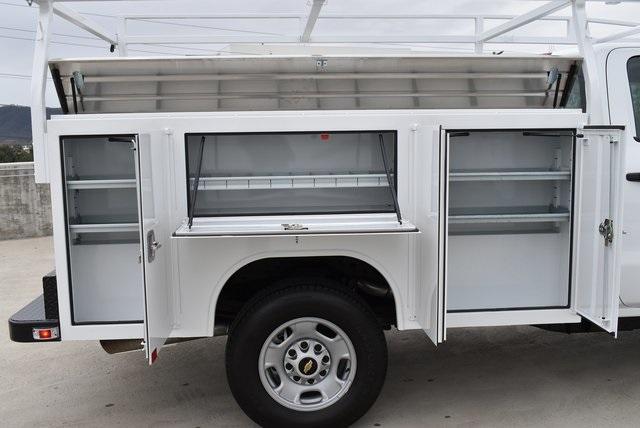 2019 Silverado 2500 Double Cab 4x2,  Harbor TradeMaster Utility #M19641 - photo 11