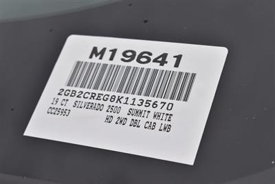 2019 Silverado 2500 Double Cab 4x2,  Harbor TradeMaster Utility #M19641 - photo 4