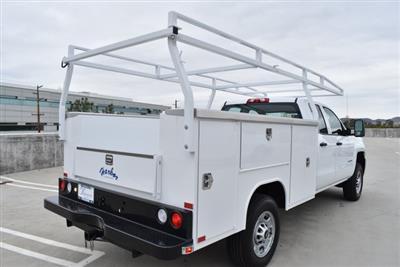 2019 Silverado 2500 Double Cab 4x2,  Harbor TradeMaster Utility #M19641 - photo 2