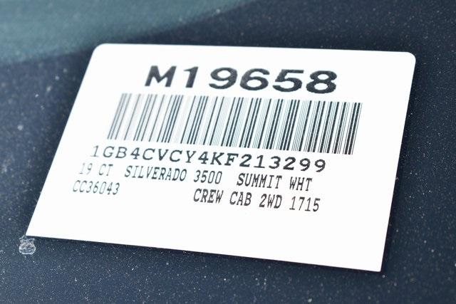 2019 Silverado 3500 Crew Cab DRW 4x2,  Royal Contractor Body #M19658 - photo 3