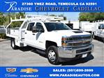 2019 Silverado 3500 Crew Cab DRW 4x2,  Royal Contractor Body #M19658 - photo 1